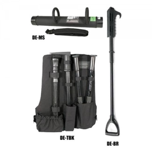 KIT#2--1 EA-MS/BR/TBK  Tactical Entry Kit #2 including one each: DE-MS/-BR/-TBK Black DE-MS   MONOSHOCK RAM The flagship of the Dynamic Entry tool line Expert breacher's ram of choice Non-sparking and electrically non-conductive to 100,000 volts AC Semi-f