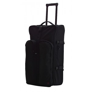 TacProGear Tactical Luggage Rolling Suitcase in Black - BTRLB1