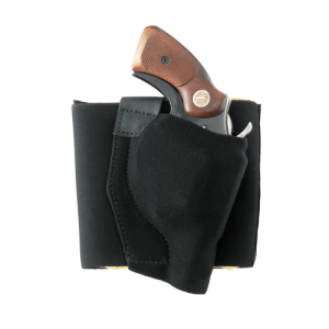 "Aker Leather 157 Comfort Flex 2 Right-Hand Ankle Holster for Smith & Wesson 31 in Black (2"") - H157BPRU-SM REV"