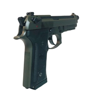 "Beretta 92 M9A3 F 9mm 17+1 5.2"" Pistol in OD Green (Safety Only) - J92M9A3M2"