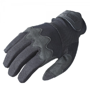 The Edge Voodoo Shooter's Gloves Color: Black Size: Medium