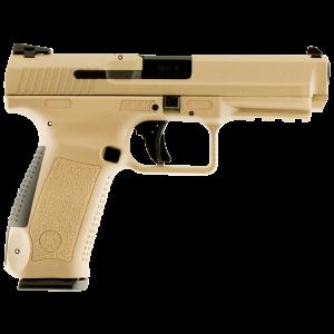 "Century Arms TP9SF 9mm 10+1 4.4"" Pistol in Desert Tan Cerakote - HG3790DN"