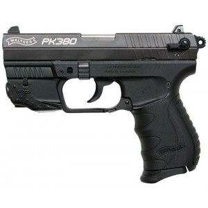 "Walther PK380 .380 ACP 8+1 3.66"" Pistol in Black - WAN40010"