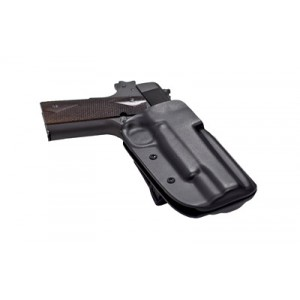 """Blade Tech Industries Outside The Waistband Holster, Fits Springfield Xdm 9/40 With 4.5"""" Barrel, Right Hand, Black, With Adjustable Sting Ray Loop Holx000804574166 - HOLX000804574166"""