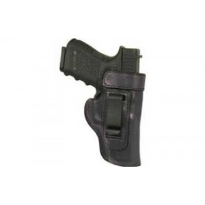 Don Hume H715m Clip-on Holster, Inside The Pant, Fits S&w .38 Special Bodyguard With Laser, Right Hand, Black Leather J168067r - J168067R