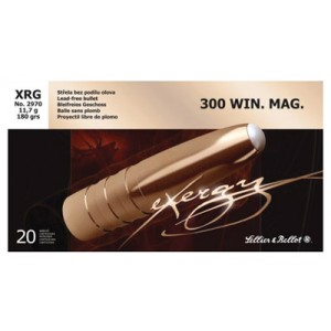 Magtech Ammunition Hunting .300 Winchester Magnum eXergy Lead Free, 180 Grain (20 Rounds) - SB300XRGA