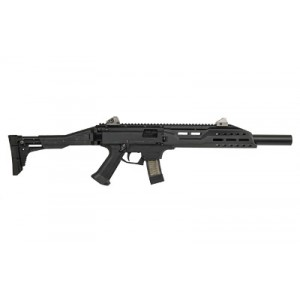 "CZ Scorpion EVO 3 S1 9mm 20-Round 16.2"" Semi-Automatic Rifle in Black - 08507"