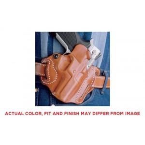"""Desantis Gunhide 2 Speed Scabbard Right-Hand Belt Holster for Ruger SP101 in Black (2.25"""") - 002BA22Z0"""