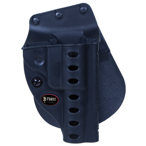 Fobus USA Evolution Right-Hand Paddle Holster for Ruger Mark II, Mark III in Black - RU3