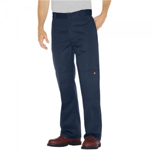 Dickies Double Knee Work Pant Men's Uniform Pants in Dark Navy - 36 x 32