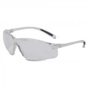 Howard Leight Wrap-Around Protective Safety Glasses w/Clear Frame & Lens R01636