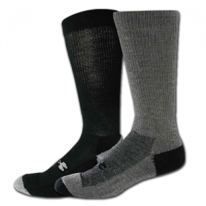 UA Men's ColdGear Lite Boot Sock Color: Foliage Green Size: Medium