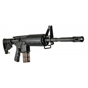 """DPMS Panther Arms AP4 .22 Long Rifle 10-Round 16"""" Semi-Automatic Rifle in Black - RFA2AP422"""