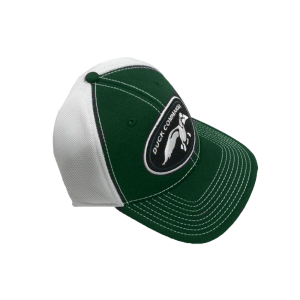 Duck Commander Hat Logo Green/White Sports Cap in Green/White - One Size Fits Most