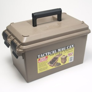 MTM Molded Products .223 Remington/5.56 NATO Green Tip Ammo Can, 62 Grain (500 Rounds) - MTM-15-MAG-M855