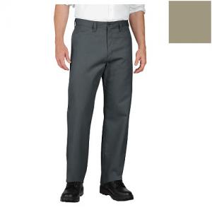 Dickies Industrial Flat-Front Pant Men's Uniform Pants in Desert Sand - 38 x 32