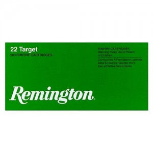 Remington Target .22 Long Rifle Round Nose, 40 Grain (100 Rounds) - 6100
