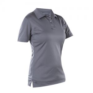 Tru Spec 24-7 Performance Women's Short Sleeve Polo in Steel Grey - Medium