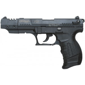 """Walther P22 .22 Long Rifle 10+1 5"""" Pistol in Black - QAP22005"""