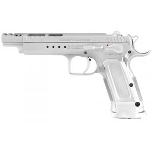 "EAA Witness 9mm 18+1 6"" Pistol in Chrome - 600066"