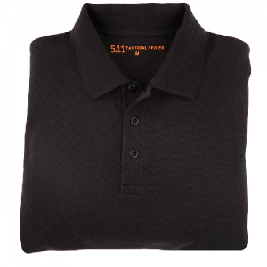 5.11 Tactical Professional Women's Short Sleeve Polo in Black - Large