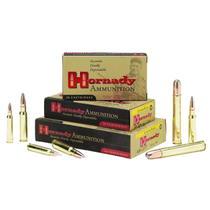 Hornady Match Grade .223 Remington/5.56 NATO Boat Tail Hollow Point, 68 Grain (20 Rounds) - 80289