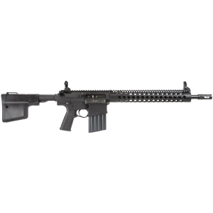 """Troy Industries 308 .308 Winchester/7.62 NATO 20-Round 16"""" Semi-Automatic Rifle in Black - SRIF38R16BT"""
