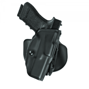 """Safariland 6378 ALS Left-Hand Paddle Holster for Smith & Wesson 5943 DAO in STX Plain Black (4"""") - 6378-320-412"""