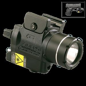 Streamlight 69245 TLR-4 G 115 Lumens CR2 Lithium 3V Black w/Green Laser
