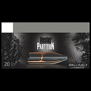Magtech Ammunition Hunting .243 Winchester Nosler Partition, 100 Grain (20 Rounds) - SB243NSRA