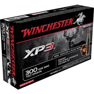Winchester .300 Winchester Magnum Supreme Elite XP3, 150 Grain (20 Rounds) - SXP300WMA