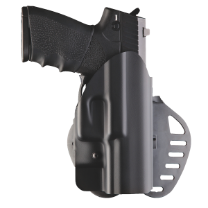 Hogue 52001 PowerSpeed Walther P99Q 07 Hard Plastic Black - 52001