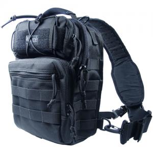 Maxpedition Lunada Gearslinger Waterproof Sling Backpack in Black 1000D Nylon - 0422B