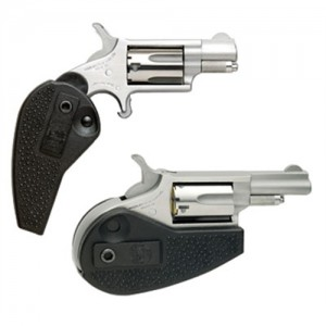 """North American Arms Mini-Revolver .22 Long Rifle 5-Shot 1.62"""" Revolver in Stainless - HGBLLR"""