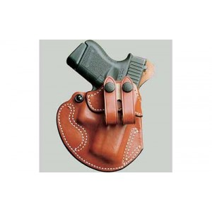 Desantis Gunhide 28 Cozy Right-Hand IWB Holster for Glock 26, 27 in Tan Leather - 028TAE1Z0
