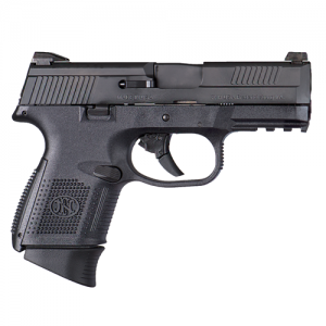 """FN Herstal FNS-40 Compact .40 S&W 14+1 3.6"""" Pistol in Black (No Manual Safety) - 66798"""