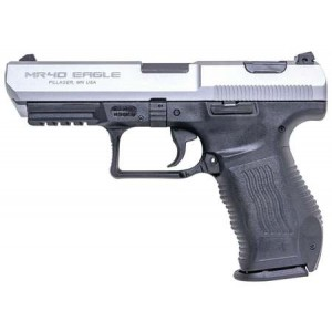 "Magnum Research MR40 Eagle Fast Action Series .40 S&W 10+1 4.5"" Pistol in Stainless - MRFA4010FL"