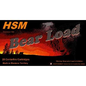 HSM Hunting Shack Bear .454 Casull WFN, 325 Grain (50 Rounds) - HSM454C4N