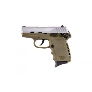 """SCCY CPX-1 9mm 10+1 3.1"""" Pistol in Satin and Flat Dark Earth - CPX-1 TTDE"""