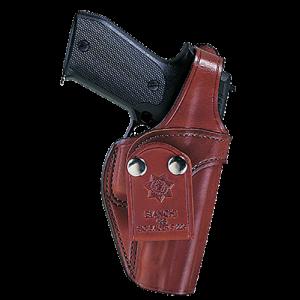 Bianchi 14573 3S Pistol Pocket 9mm/40 Automatic Beretta 92/96s Leather Tan - 14573