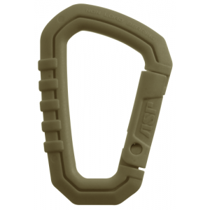 Large Polymer Carabiner Color: Coyote