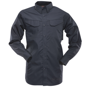 TruSpec - 24-7 Ultralight Long Sleeve Field Shirt Color: Navy Length: Regular Size: 2X-Large