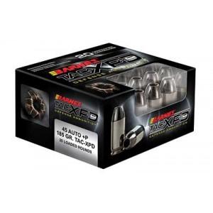 Barnes Bullets TAC-XPD .45 ACP Barnes TAC-XP, 185 Grain (20 Rounds) - 21555