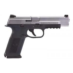 "FN Herstal FNS-40 Long Slide .40 S&W 14+1 5"" Pistol in Black (Ambidextrous Safety) - 66729"