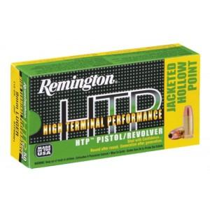Remington High Terminal Performance .380 ACP High Terminal Performance Jacketed Hollow Point, 88 Grain (50 Rounds) - RTP380A1