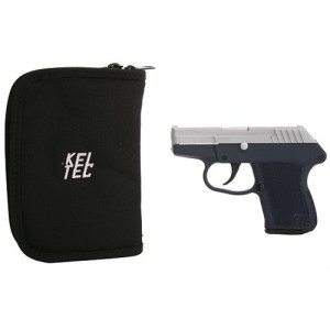 "Kel-Tec P-32 .32 ACP 7+1 3.1"" Pistol in Chrome Slide/Navy Blue Frame - P32HCNB"