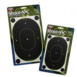 """Birchwood Casey 10 Pack 7"""" Oval Silhouette Targets 34710"""