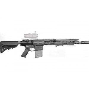 "Knights Armament Company Enhanced Combat .308 Winchester/7.62 NATO 20-Round 16"" Semi-Automatic Rifle in Black - 30313"