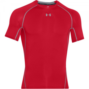 Under Armour HeatGear Men's Undershirt in Red - Large