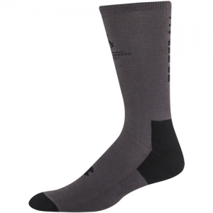 UA Freedom II Crew Socks 2 Pack Color: Steel/Black Size: Medium